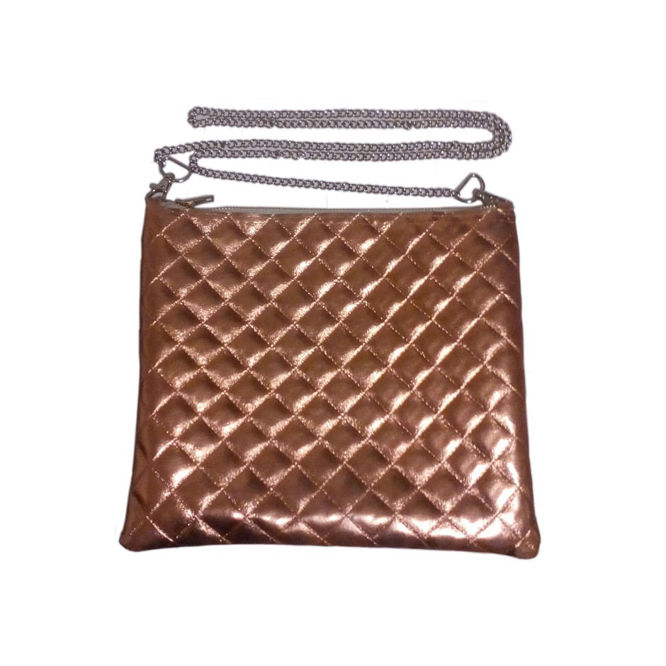 Rosegold shoulder bag